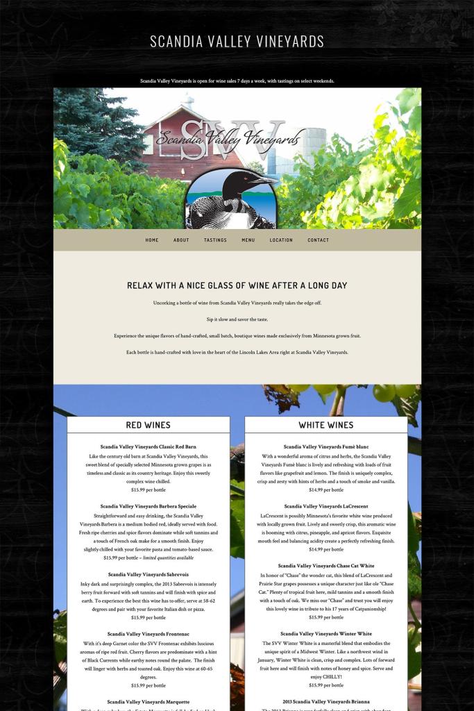 website design little falls mn from branding and design portfolio