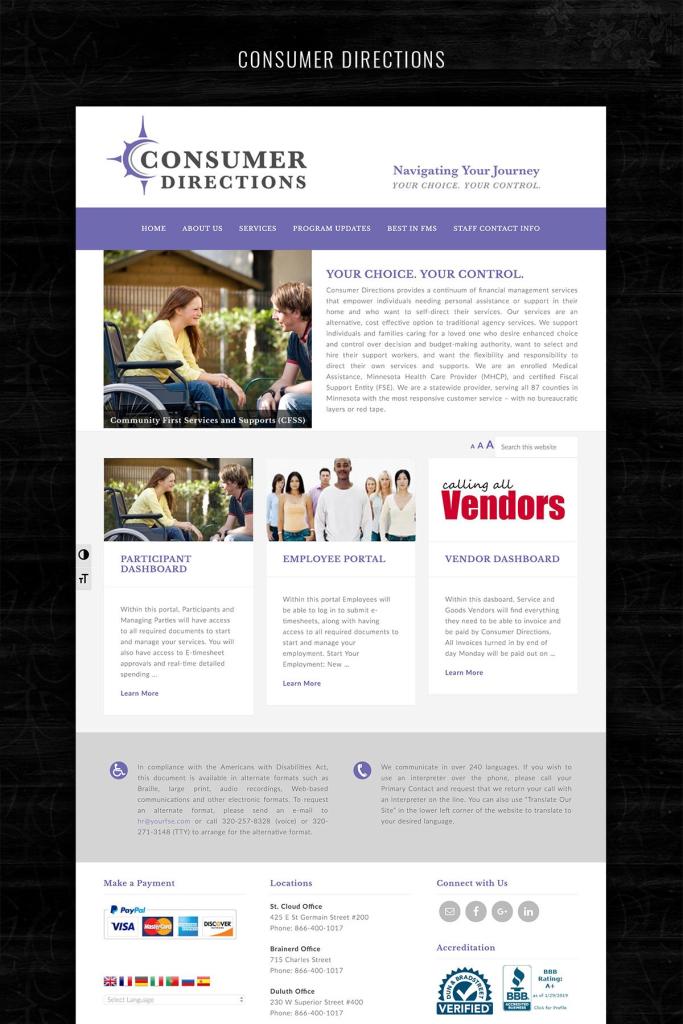 website design mn