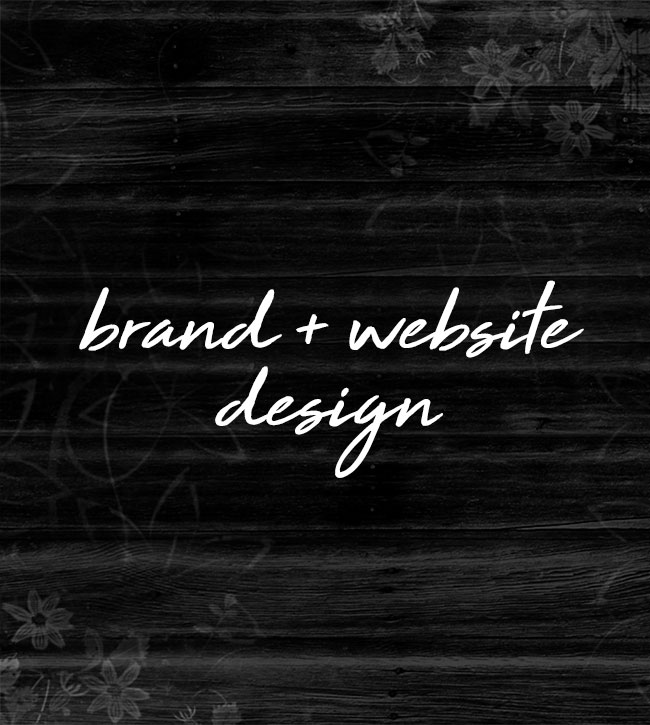 brand + website design